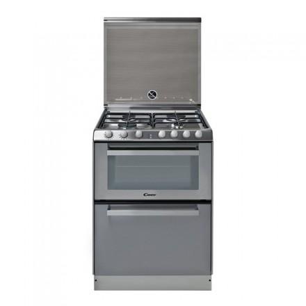 Cucina Candy TRIO 9501/1X con Piano Cottura Forno e Lavastoviglie Colore Inox