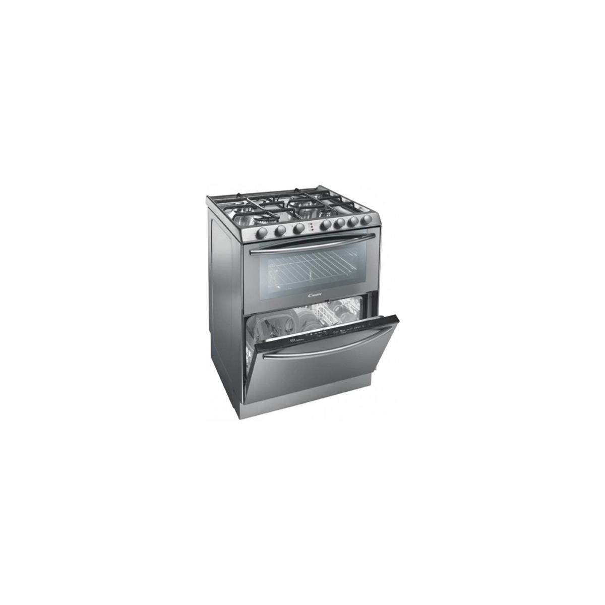 Cucina Candy TRIO 9501/1X con Piano Cottura Forno e Lavastoviglie ...