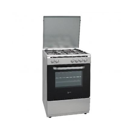 Cucina Atlantic ATMC66XELG 60x60 Inox Forno Elettrico Con Grill Elettrico