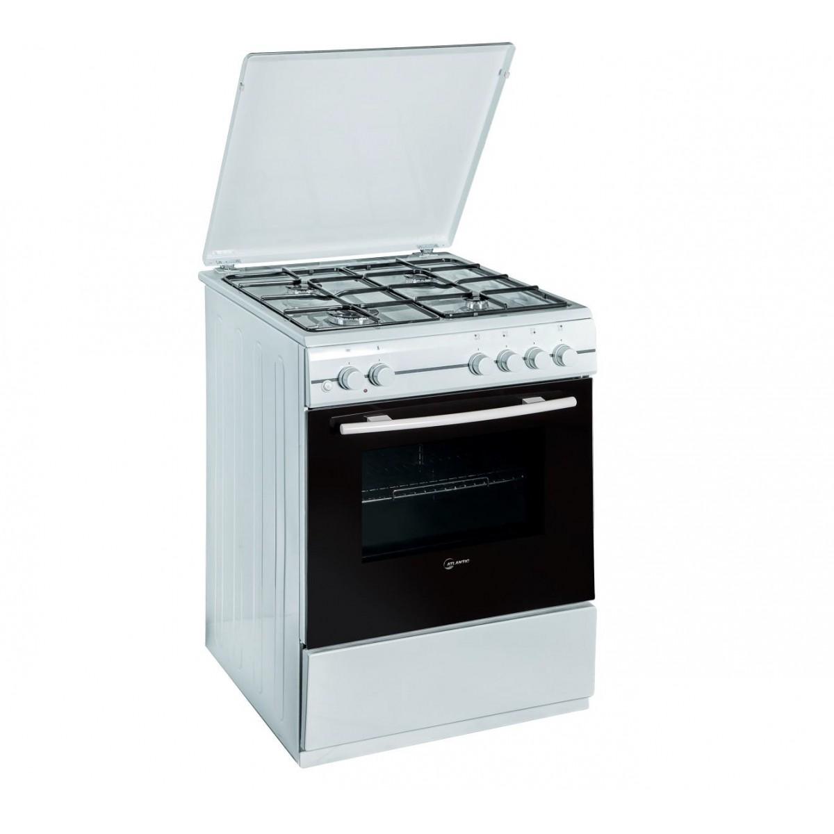 Cucina Atlantic ATMC66E 60x60 Bianca Forno Elettrico Con Grill Elettrico