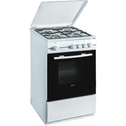 Cucina a Gas Atlantic ATGC55 50x50 4 Fuochi Bianca