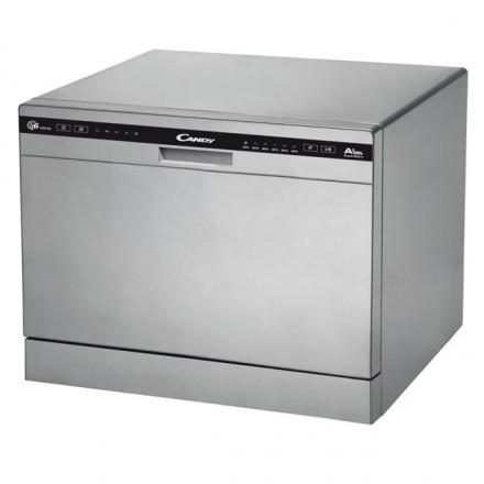 Lavastoviglie Candy Cdcp 6/e-s Silver Mini A+ A44 L55 P 50