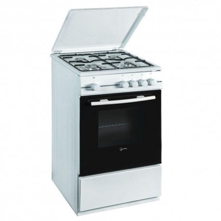 Cucina a Gas Atlantic ATGC66 4 Fuochi 60x60 Bianca