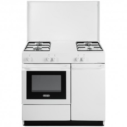 Cucina a Gas De Longhi SGW854N 86x50 4 Fuochi Bianca