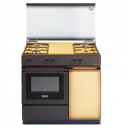 Cucina a Gas De Longhi SGK854N 86x50 4 Fuochi