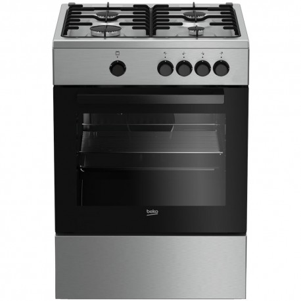 Cucina a Gas Beko FSG62000DX 4 Fuochi 60x60 Inox
