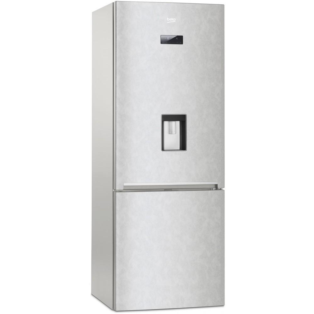 Frigorifero Combinato Beko RCNE520E20DS No Frost Classe A+ Dispenser