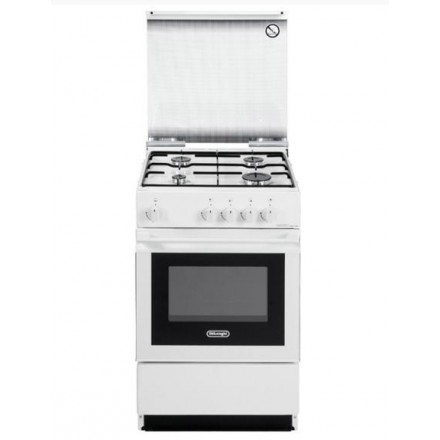 Cucina a Gas De Longhi SGW554GNN 50x50 con Forno Bianca