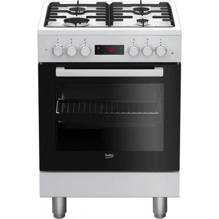 Cucina Elettrica Ventilata Beko FSE62110DWF 60x60 Bianca
