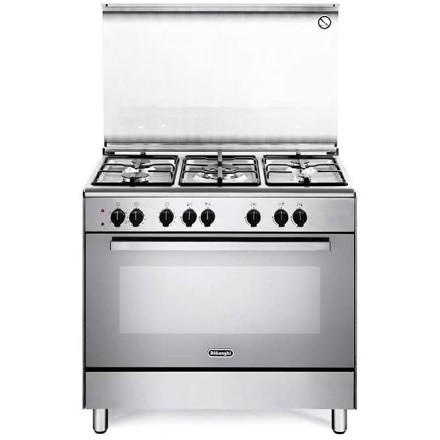 Cucina De Longhi DEMX 96 ED Inox 90x60 5 Fuochi Forno Mult.