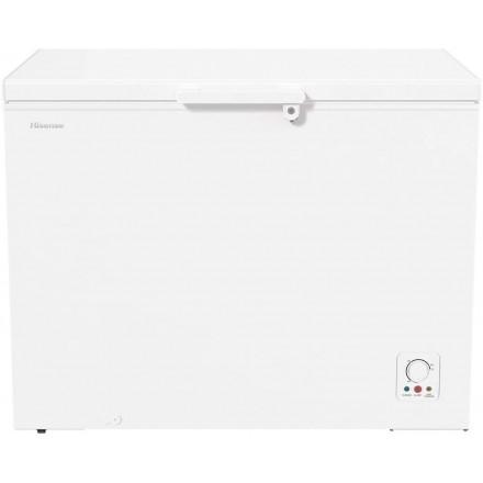 Congelatore Orizzontale a pazzo Hisense FC394D4AW2 Raffreddamento statico Capacità 303lt Classe energetica E (A)