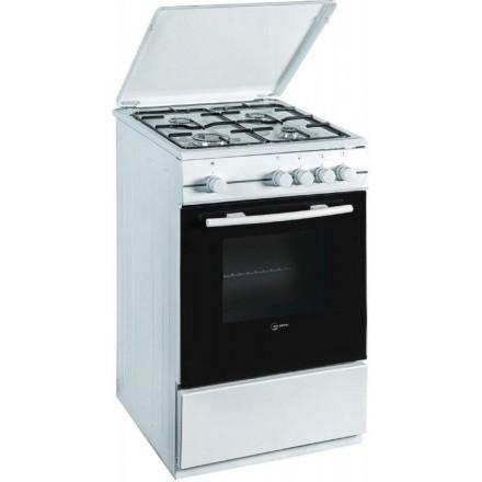 Cucina Atlantic ATMC66mix 60x60 Bianca con Forno Elettrico