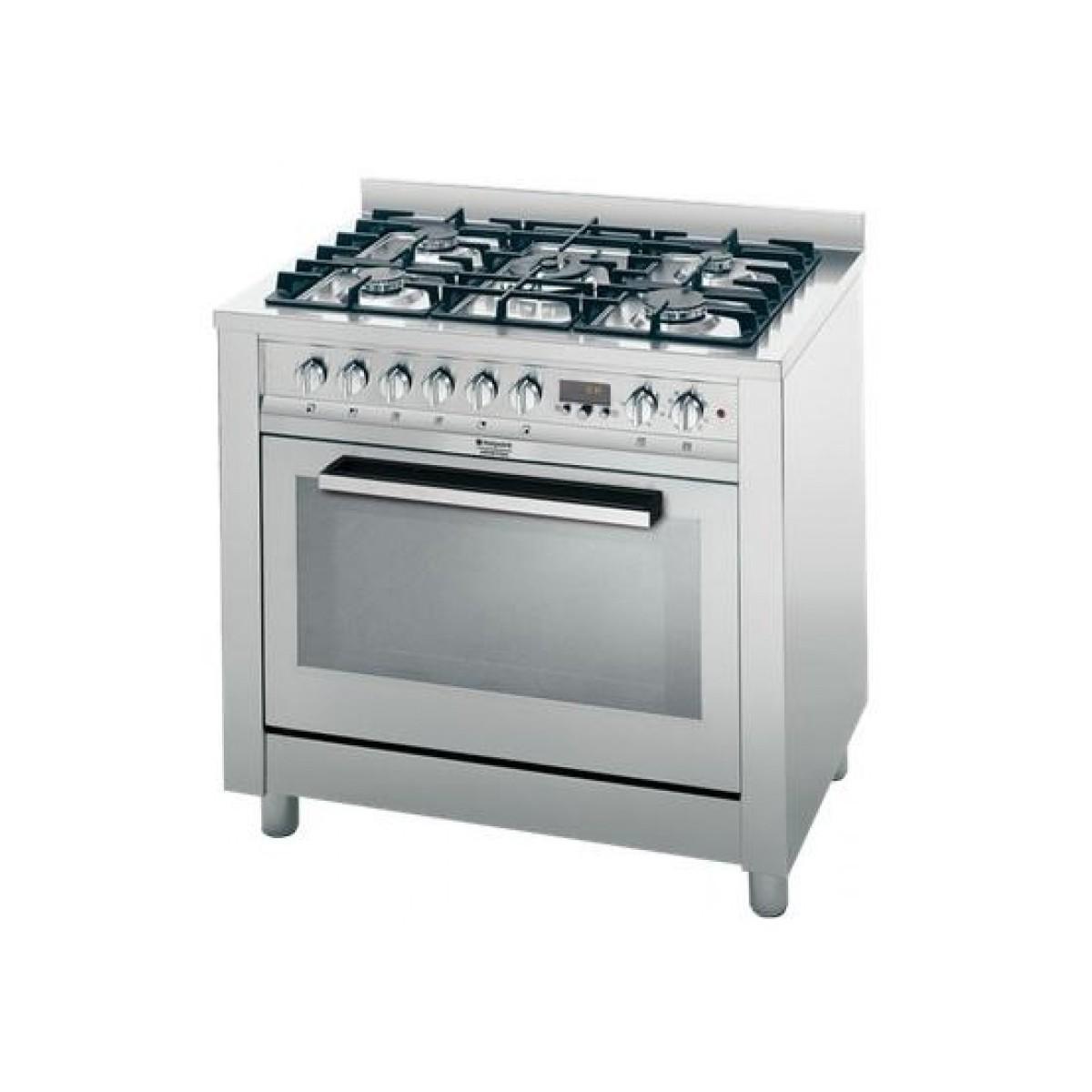 Cucina Hotpoint CP97SEA/HAS 90x60 Inox F.elet. Mult.