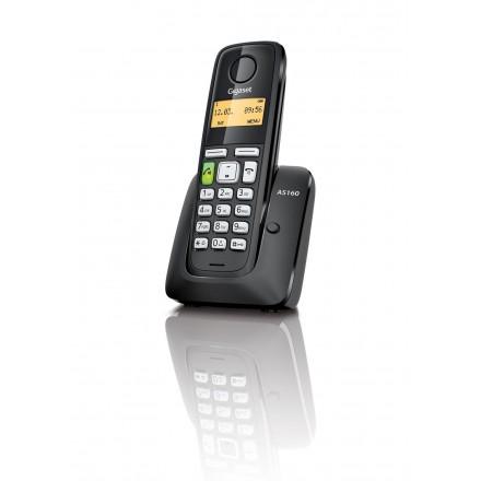 Telefono Cordless Gigaset AS160BK Nero