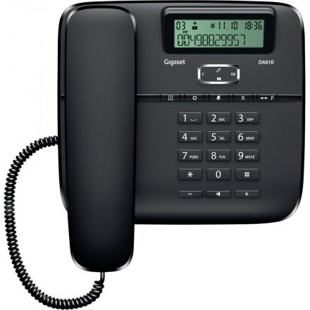 Telefono Fisso con Filo Gigaset DA610BK Nero