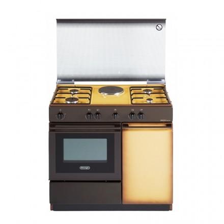 Cucina a Gas De Longhi SEK8541N 86x50 4 Fuochi con Forno