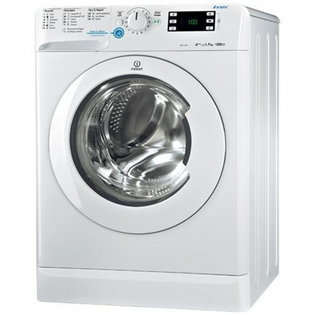 Lavatrice Carica Frontale Indesit BWSE71283X 7 Kg 1200 Giri Classe A+++