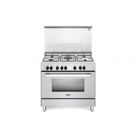 Cucina a Gas De Longhi DEMW96 90x60 6 Fuochi con Forno