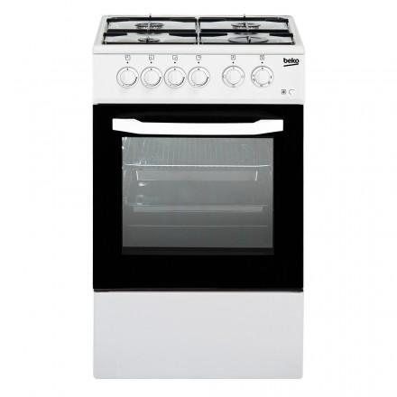 Cucina CSS42014FW Bianca 50x50 Forno Elettrico Cop. Vetro