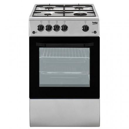 Cucina CSS42014FS 50x50 Inox Forno Elettrico Cop. Vetro
