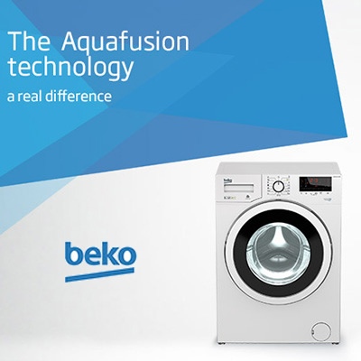 aquafusion lavatrice beko wtx91232wi