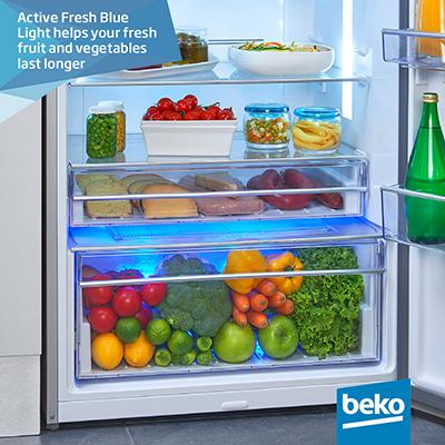 frigorifero Beko dn162220b a libera installazione blue light