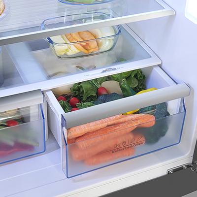 frigorifero hisense rt709n4ws21 a libera installazione moisture fresh crisper