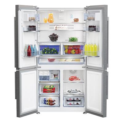frigorifero beko gn1416232zx a libera installazione aperto