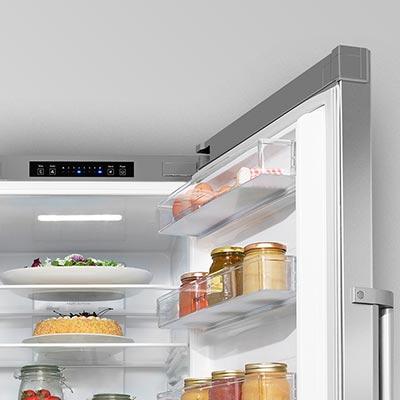 frigorifero Hisense FSN516A30C a libera installazione particolare