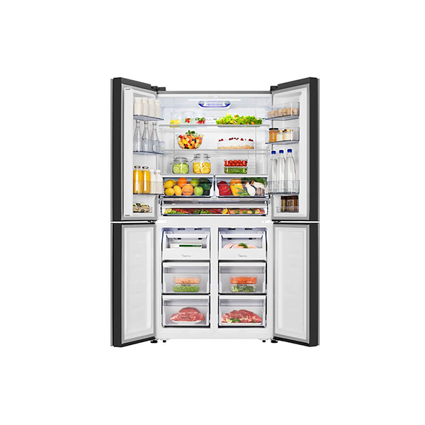 hisense frigorifero rq689n4ac2 a libera installazione aperto