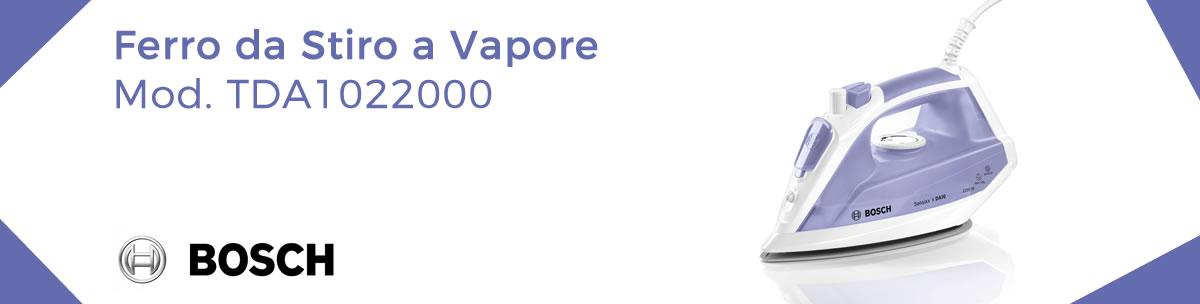 banner ferro da stiro bosch tda1022000 a vapore