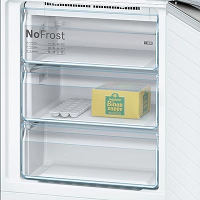 frigorifero bosch kgn49xl30 a libera installazione cassetti