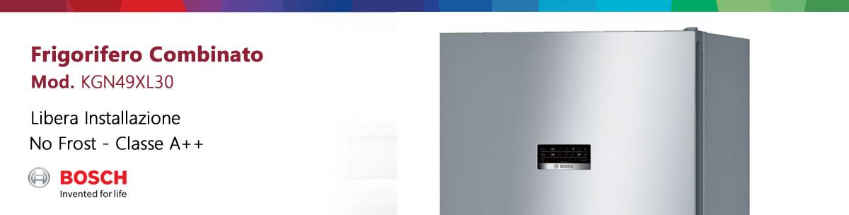 frigorifero bosch kgn49xl30 a libera installazione banner