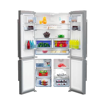 frigorifero beko gn1416221zx a libera installazione aperto