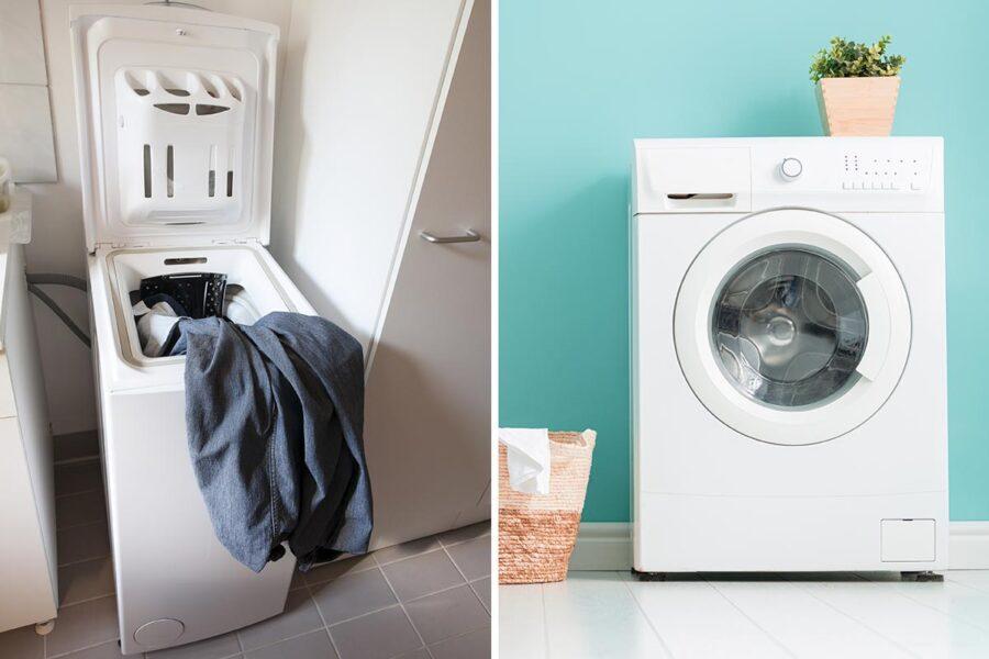 Meglio la lavatrice con carica dall'alto o frontale? La differenza tra i due metodi
