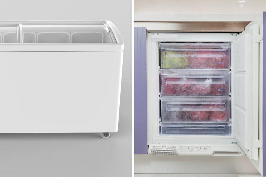 Congelatori: verticali o orizzontali? Guida alla scelta